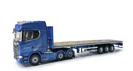IMC / Tekno Blue Crown Scania New S-series Highline 6x2 & Flatbed 3 axle